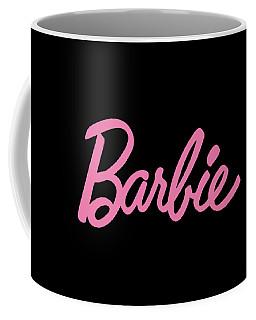 Barbie Logo Pink Daughter Coffee Mug