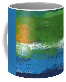 Barcelona- Abstract Art By Linda Woods Coffee Mug