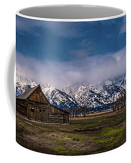 Barn At Mormon Row Coffee Mug