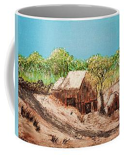 Barn On The Hill Coffee Mug
