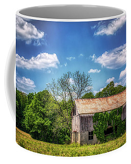 Barn With Ivy Coffee Mug