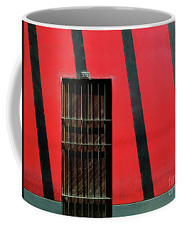 Coffee Mug featuring the photograph Bars And Stripes by Rick Locke