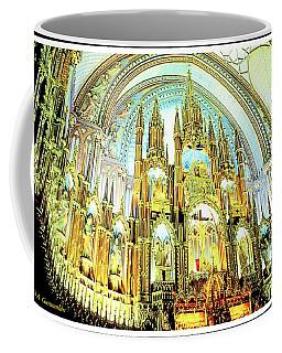 Basilica Of Notre Dame Montreal Quebec Coffee Mug