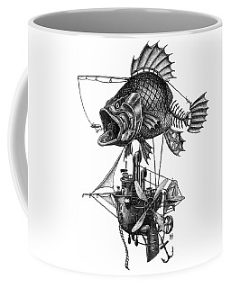 Bass Airship Coffee Mug