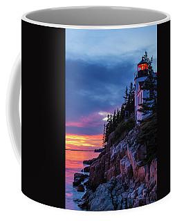 Bass Harbor Head Lighthouse At Twilight Coffee Mug