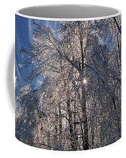 Bass Lake Trees Frozen Coffee Mug