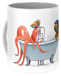 Bathtime Coffee Mug