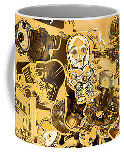 Battle Of A Sci-fi Design Coffee Mug