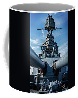 Battleship Big Guns  Coffee Mug