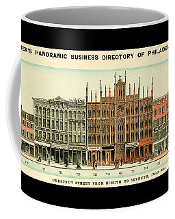Baxter's Panoramic Business Directory Coffee Mug