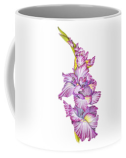 Coffee Mug featuring the drawing Be Glad by Nancy Cupp