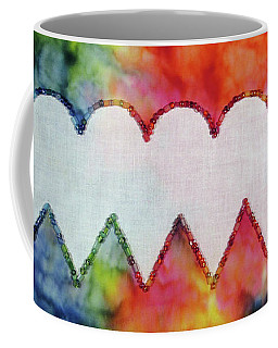 Be Still My Beaded Hearts Coffee Mug