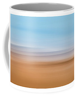 Beach Abstract Coffee Mug