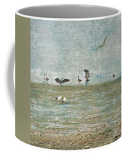 Beach And Birds Coffee Mug