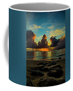 Coffee Mug featuring the photograph Beach At Sunset 2 by Stuart Manning