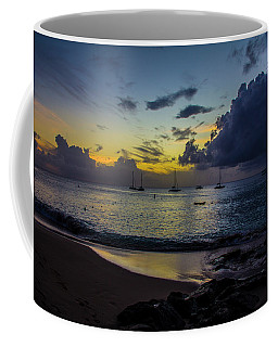Beach At Sunset 3 Coffee Mug