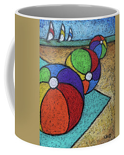 Beach Balls Three Coffee Mug