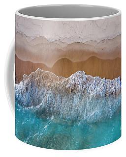 Beach Colors Aerial Coffee Mug