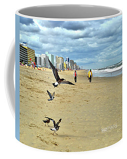 Beach Comber Traffic Coffee Mug