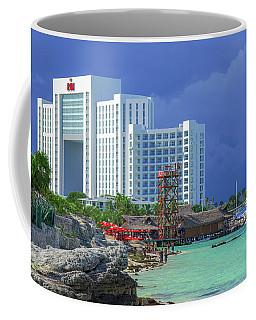Beach Life In Cancun Coffee Mug