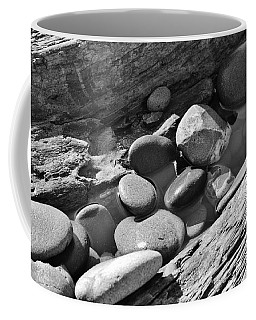 Coffee Mug featuring the photograph Beach Textures by Jeni Gray