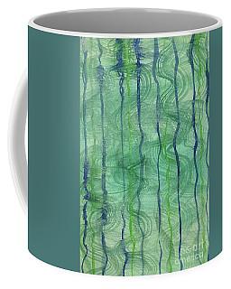 Beach Water Lines Coffee Mug