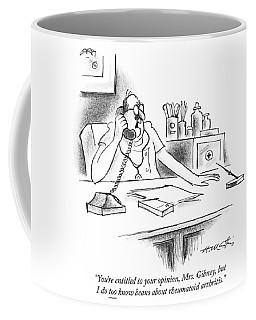 Beans About Rheumatoid Arthritis Coffee Mug