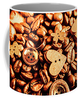 Beans And Buttons Coffee Mug