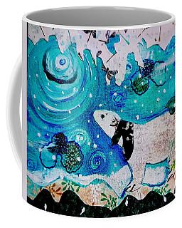 Bear And Moon Coffee Mug