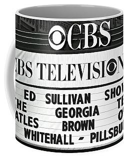 Beatles - Ed Sullivan Show Marquee 1964 Coffee Mug