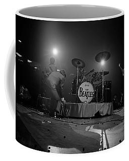 Beatles First American Concert - British Invasion Begins 1964 Coffee Mug