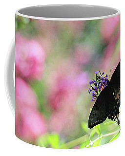 Coffee Mug featuring the photograph Beautiful Butterfly by Trina Ansel