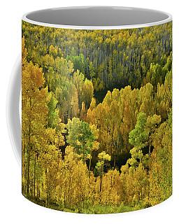 Beautiful Fall Colors At Woods Lake State Wildlife Area Coffee Mug
