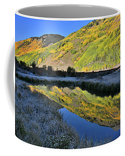 Beautiful Mirror Image On Crystal Lake Coffee Mug