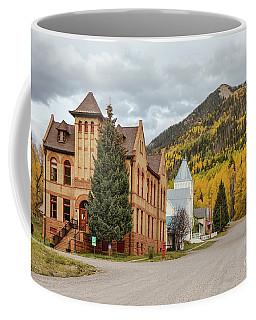 Beautiful Small Town Rico Colorado Coffee Mug