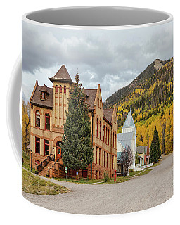 Coffee Mug featuring the photograph Beautiful Small Town Rico Colorado by James BO Insogna