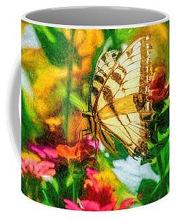 Beautiful Swallow Tail Butterfly Coffee Mug