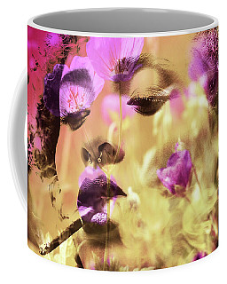 Coffee Mug featuring the photograph Beauty Of Defiance by Susan Maxwell Schmidt