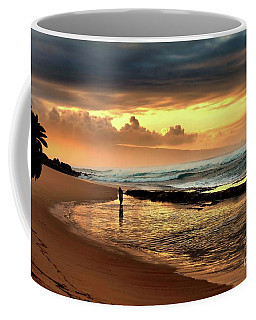 Coffee Mug featuring the photograph Beauty On The Beach by Patricia Strand