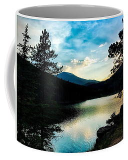 Coffee Mug featuring the photograph Beaver Brook Lake by Dan Miller