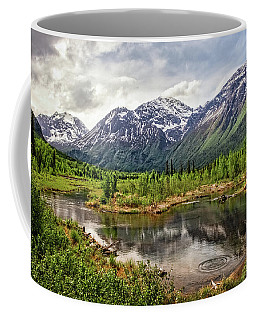 Beaver Pond, Eagle River Ak Coffee Mug
