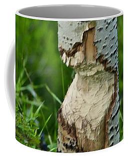 Coffee Mug featuring the photograph Beaver Work by Ann E Robson