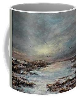Beavertail State Park At Sunset Coffee Mug