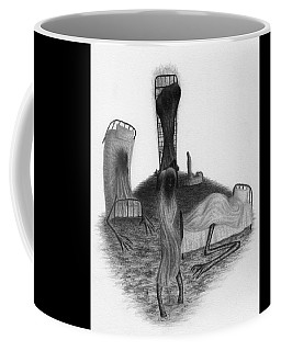 Bed Sheets - Artwork Coffee Mug