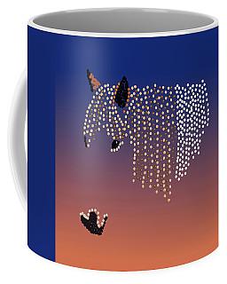 Bedazzled Horse's Mane Coffee Mug