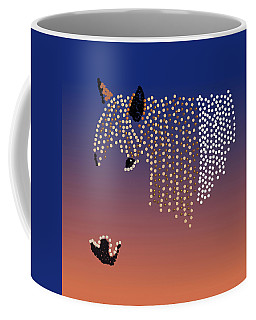 Bedazzled Horse's Mane Coffee Mug