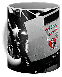Beech At-11 In Selective Color Coffee Mug
