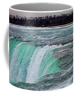 Coffee Mug featuring the photograph Before The Falls by Lora J Wilson