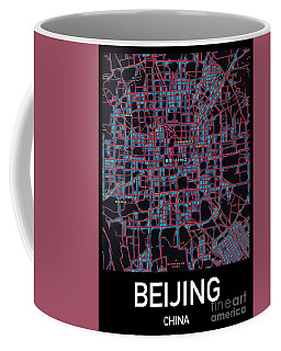 Beijing City Map Coffee Mug