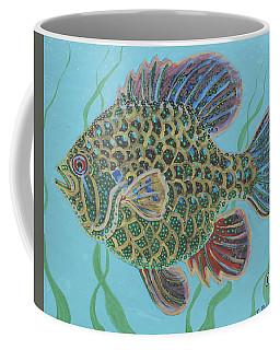 Bejeweled Bluegill Coffee Mug
